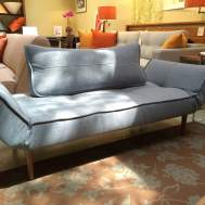 Zeal daybed light blue basic   Floor model $749