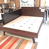 Dasher 3.0 Queen solid walnut w/chocolate stain $1899