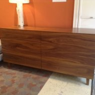 Silverton solid walnut dresser made in U.S.A.  As shown $2495