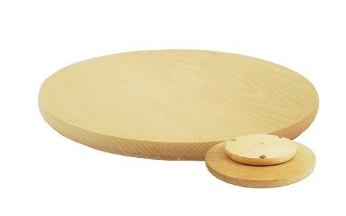 tagliere rotante 30 cm per pizza e sushi