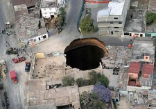 Guatemala-Sinkhole