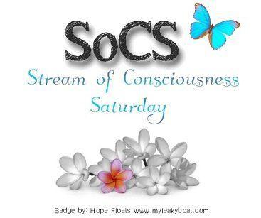 #SoCS EclecticEvelyn.com