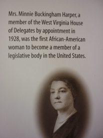 Mrs. Minnie Buckingham Harper WV