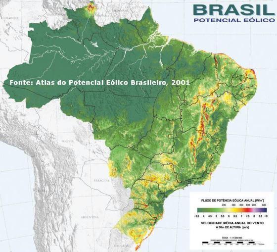 Atlas do Potencial Eólico Brasileiro