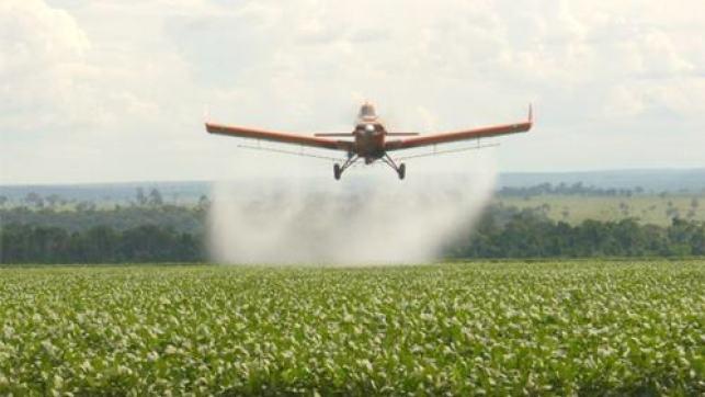 agrotóxico, pulverização aérea