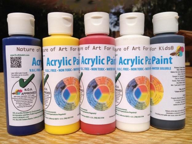 Kids Acrylic Paint | Art Projects, children's