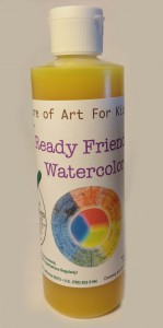 Quality Art Supplies Kids Non-Toxic, primary mixing paint