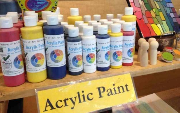 Kids Acrylic Paint | Art Projects