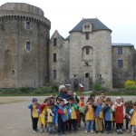 voyage des PS et MS au château de St Mesmin.