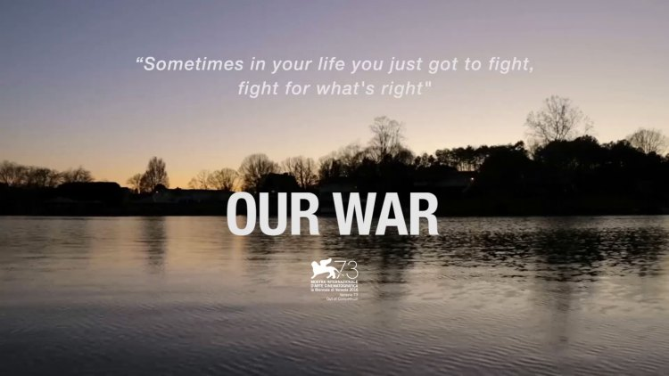 "il doc-film ""our war"" ha come protagonista il senigalliese Karim Franceschi"