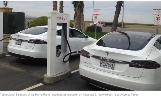 Tesla would enjoy a larger economy of scale if other firms built Supercharger Stations.