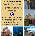 This couple has gone to the extreme of travel hacking...over 60 credit cards! But they show how it hasn't wrecked their scores, how they manage them all and how it's gotten them free travel around the world! WOW!