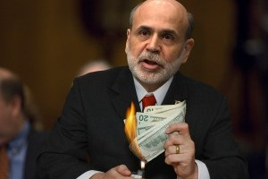The Irresponsibility of Ben Bernanke and How He Will Destroy the Dollar