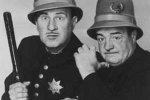 Abbott and Costello Report on The Keystone Kops