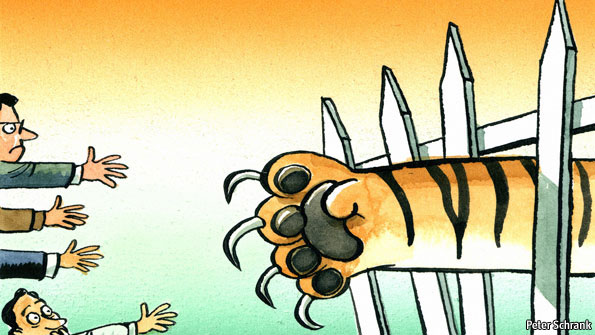 India and its near-abroad - New humility for the hegemon | Leaders | The  Economist