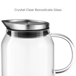 Small Of Glass Pitcher With Lid