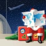 Tracking Santa on Christmas Eve