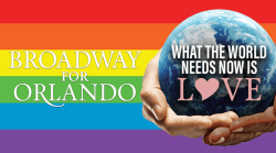 Broadway for Orlando fund-raiser recording