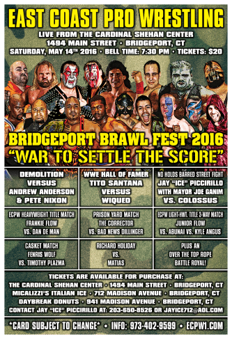 ECPW Bridgeport Connecticut May 14th 2016 Poster 72