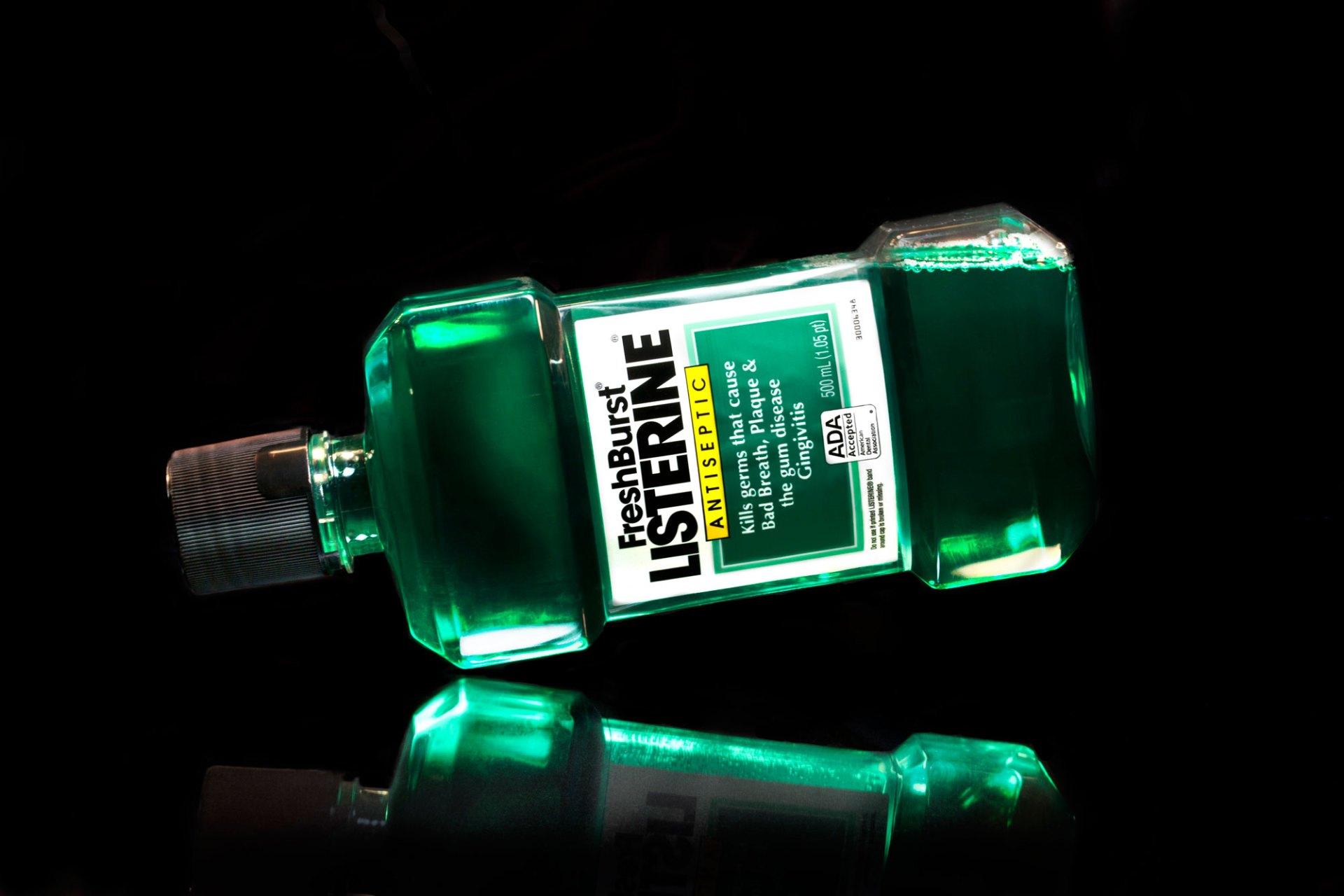 Listerine Product Shot