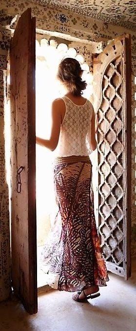 boho-chic-maxi-skirt