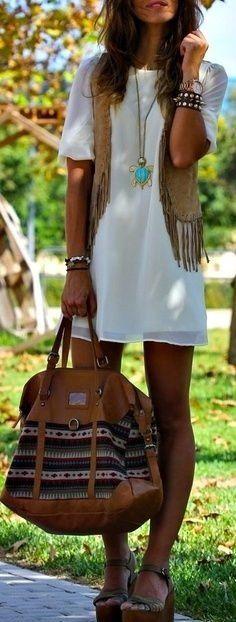 sexy-bohemian-white-mini-dress