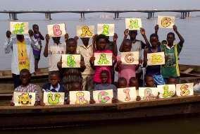 15. Bring Back our Girl demostration orgabnised by CEE-HOPE in Makoko Waterside, Lagos 2014.
