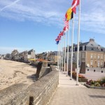 War memorial at beach near St. Aubin sur Mer.