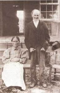 Jeremiah Donovant helped  build St. Mary's Catholic Church in Edgefield.  He is pictured with his wife From Mine Creek are of Old Edgefield District. His story parallels the growth of the Catholic Churches of our area.