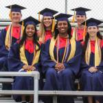 Vocational Honor Graduates:  1st Row - Shelby Collier, Ebony Johnson, Margaret Lorimer 2nd Row - Robbie Guess, Allie Jhant, Trent Miller *Not pictured: Tevin Harley, McKenzie Talbert