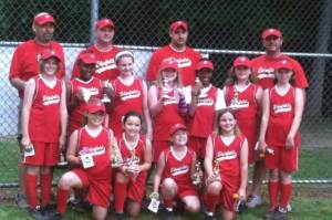 Edgefield Red Girls Softball Team