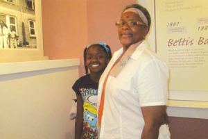 Ayrianna Weaver and grandmother, Mrs.Barbara Peterson