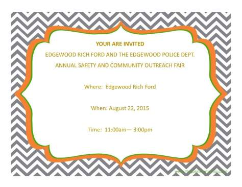 Annual Safety & Community Outreach Fair