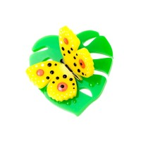 Hot House Butterfly Brooch