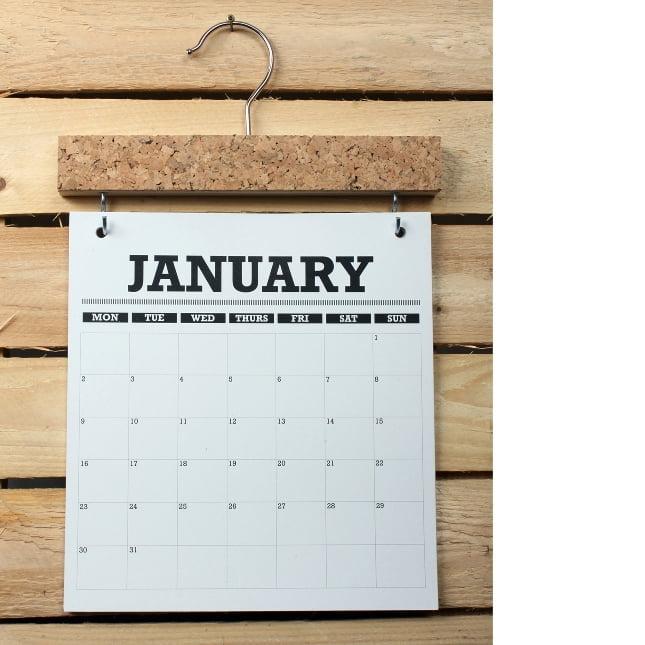 2014 Pinboard Calendar