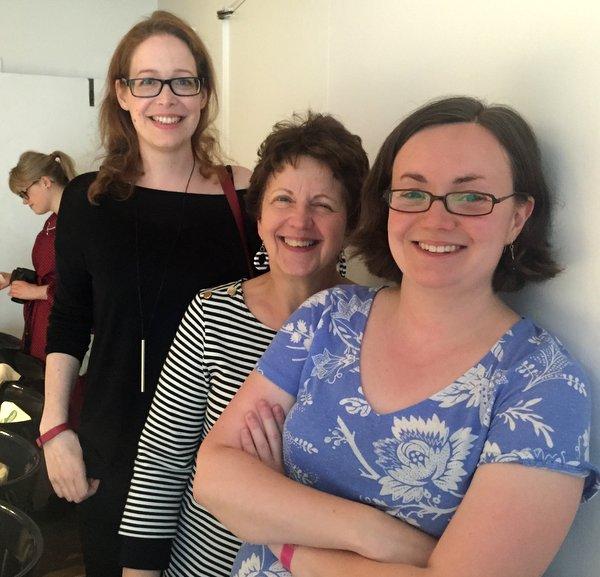Caroline, Danielle and Amy the Edinburgh Foody Team