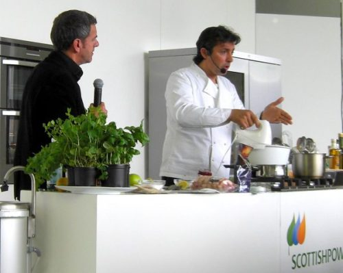 Taste of Edinburgh Jean Christophe Novelli