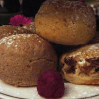 Cinnamon scones.