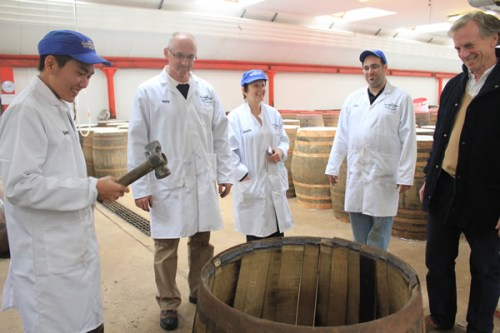 Whisky Makers in their Element