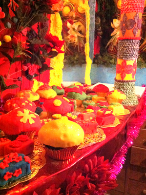 Technicolour cupcakes