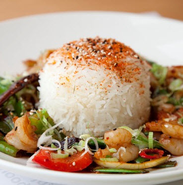 Firecracker Prawns - Photographs courtesy of Wagamama's
