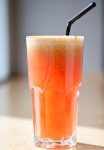 Super Juice - Photographs courtesy of Wagamama's