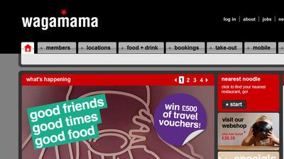 Wagamama Website