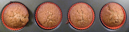Burnt butter cup cakes. Unadorned and still tasty-looking.