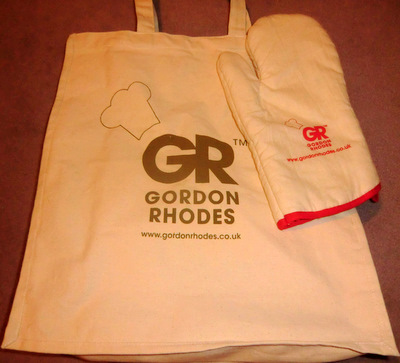 Win a Gordon Rhodes Bag & Apron