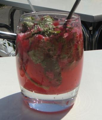 Raspberry Mint Sparkler