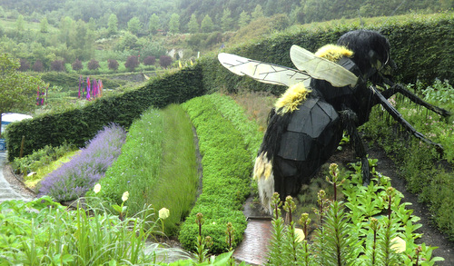 Even the bees are bigger at the Eden Project