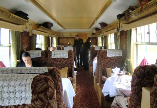 Great service on the Northern Belle