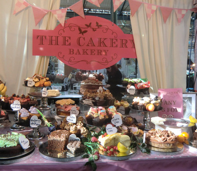 Cakes at St George's Market Belfast
