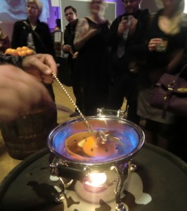 Making a hot cocktail is a spectacle and an art.